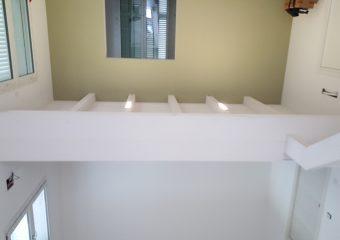 Pitturazione scala,soppalco e pareti